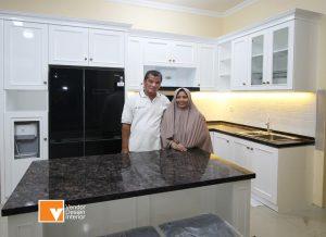 Kitchen Set Klasik Pondok Kopi Jakarta Timur