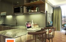 Kitchen Set Spring Hill Kemayoran dan The Mansion Kemayoran