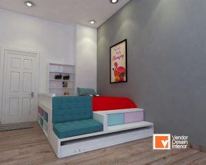 Kontraktor Interior Desain Apartemen Botanica Simprug Kamar Anak