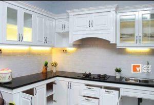 Jasa Pembuatan Lemari Kayu Kabinet Kitchen Set Kebayoran